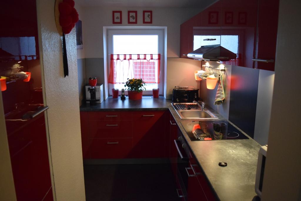 Küche | Ferienwohnung Bernau Schwarzwald PAY-TV und Komfortkamin